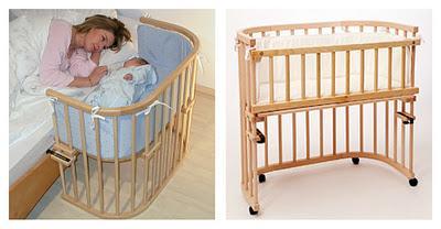 Co sleeping bonding e bedside cots o culle da affiancare al lettone paperblog - Culla che si attacca al letto prenatal ...