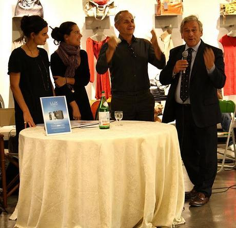 I met Massimo Rebecchi and Pinko + my lovely followers @ LUX !!!
