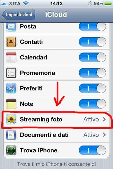 Icloud e lo streaming foto paperblog - La finestra di fronte streaming ...