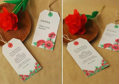 Invitations & place cards: Free Printables