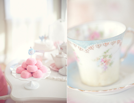 Vintage Tea Party at home