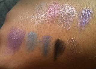 KIKO PIGMENT LOOSE EYESHADOW - SWATCHES