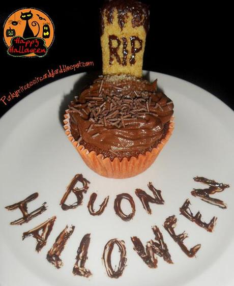 HALLOWEEN R.I.P MUFFIN
