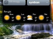 Digital transparent Clock Symbian Anna Belle