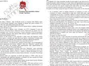 Inedito: lettera Giorgio Napolitano parte figli Davide Cervia «affinchè faccia finalmente luce questo agghiacciante Mistero Stato»