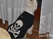 Lezioni maglia: tutorial maglioncino teschio Brett
