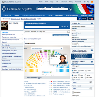 Infografiche interattive il parlamento italiano paperblog for Dove si riunisce il parlamento italiano