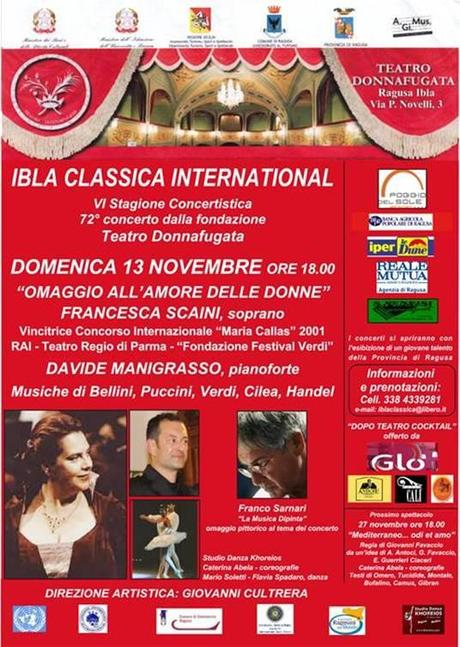 Inaugurazione Ibla Classica International 2011/2012