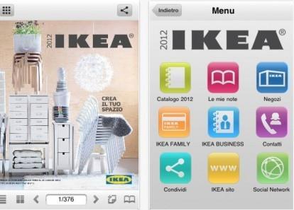 Ikea italia 2012 il nuovo catalogo su iphone paperblog - Catalogo ikea 2015 italia ...