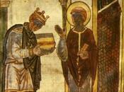 L'epica inglese Medioevo felice santi, monaci