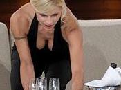 Michelle Hunziker nasconde seno programma tedesco