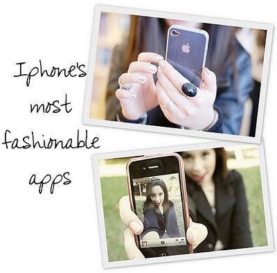 LIFESTYLE   Iphone's most fashionable apps