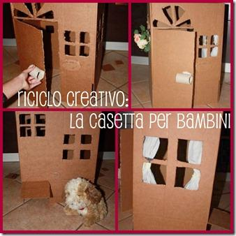 Una casetta per i vostri bimbi idea riciclosa e a costo for Mutuo per la casa per costruire una casa