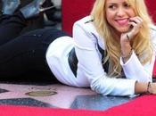 Nuova stella nella Hollywood Walk Fame Shakira!
