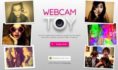 webcam Webcam Toy: aggiungere Effetti alle Fotografie scattate con la vostra Webcam