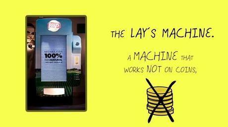 lays vending machines ambient marketing