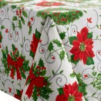 Come apparecchiare e decorare la tavola di Natale – La tovaglia - Paperblog