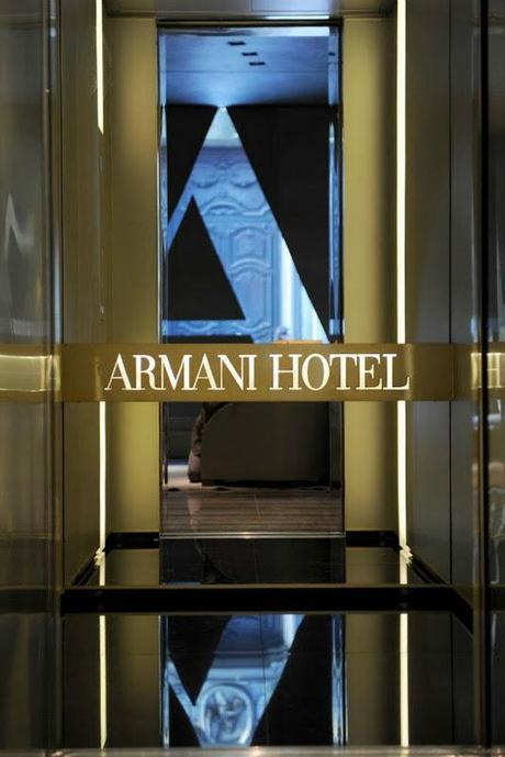 Inaugurato l 39 armani hotel a milano ecco alcune foto al for Giorgio armani architetto