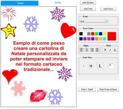 Crea Cartoline Per Gli Auguri Di Natale Da Stampare Paperblog