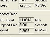Vuoi scoprire velocità' Hard Disk Roadkil Speed Disk)