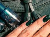 H&M;'s Green Bag...and nail art!!