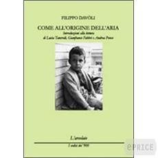 COME ALL'ORIGINE DELL'ARIA di Filippo Davoli