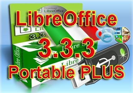 LibreOffice 3.3.3 Italiano Portable Plus