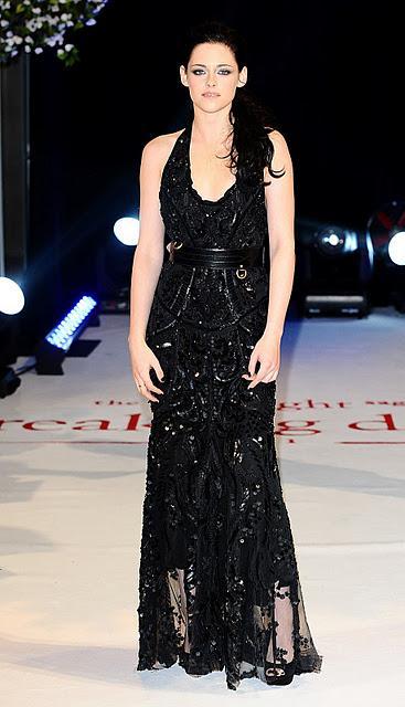 Star Style Kristen Stewart Magnifica In Roberto Cavalli Paperblog