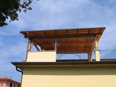 Tettoie in ferro battuto paperblog - Tettoia per giardino ...
