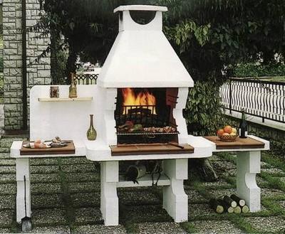 Barbecue in muratura paperblog for Bbq affumicatore fai da te