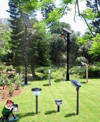 Impianto illuminazione giardino paperblog - Lampade ad energia solare per giardino ...