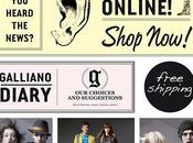 News closet John Galliano: it's time shopping online!