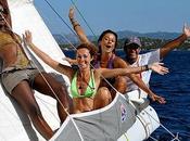 Vela rosa Sailing Woman....nel Vento Sardegna