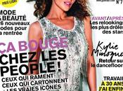 "KYLIE MINOGUE copertina ""GLAMOUR"" Francia"