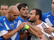 Italia: brescia-larissa terza rissa pre-campionato