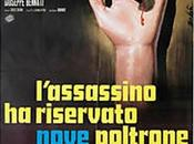 L'assassino riservato nove poltrone