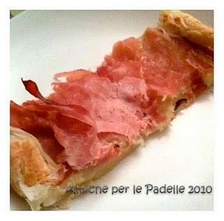 TORTINO CON PATATE E PROSCIUTTO COTTO