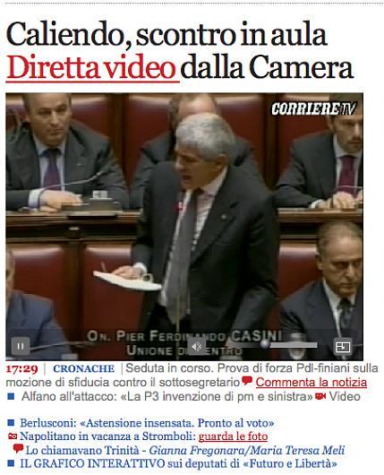 Il grafico interattivo dei finiani svela il digital for Diretta dalla camera dei deputati