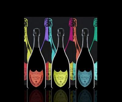 ANDY WARHOL + CENTRAL ST. MARTINS = DOM PERIGNON