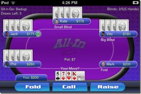 All In Poker: non solo texas Holdem – Poker per iPhone ed