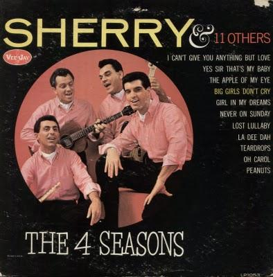 THE 4 SEASONS - SHERRY & 11 OTHERS (1962)