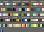 Color Browser: tutte nostre palette colori portata mano