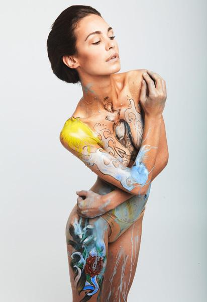 Cos'è il body painting?