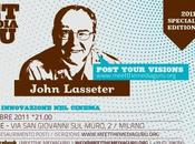 John Lasseter racconta Meet Media Guru Pixar [live streaming]
