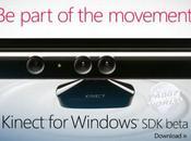 Kinect sempre vicino Windows