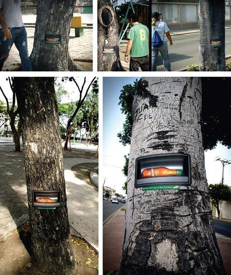 quintuples ambient guerrilla marketing