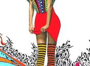 "Dettagliatissimi patterns nelle ""mixed media girls"" nikki farquharson"
