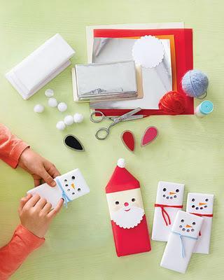 Lavoretti Di Natale Facili E Veloci Per Bambini.Come Personalizzare Le Tavolette Di Cioccolato Lavoretti