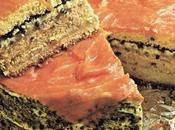 Torta salata salmone caviale