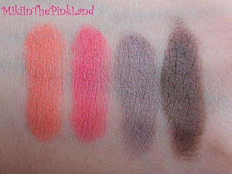 Pure Colour Extravaganza - Kiko Light Impulse Palette - Swatches
